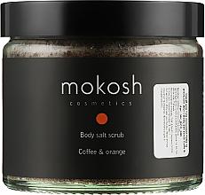 """Духи, Парфюмерия, косметика Скраб для тела """"Кофе и апельсин"""" - Mokosh Cosmetics Body Salt Scrub Coffee & Orange"""