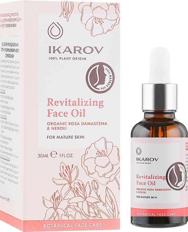 Восстанавливающее масло для лица - Ikarov Revitalizing Face Oil