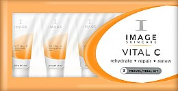 Духи, Парфюмерия, косметика Набор - Image Skincare Vital C (f/mask/7.4ml + cleanser/7.4ml + f/cr/7.4ml + f/cr/7.4ml + ser/7.4ml)