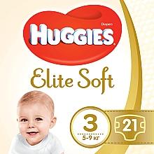 "Духи, Парфюмерия, косметика Подгузники ""Elite Soft"" 3 (5-9кг, 21 шт) - Huggies"