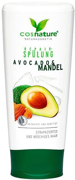 "Восстанавливающий кондиционер ""Авокадо и миндаль"" - Cosnature Repair Conditioner Almond & Organic Avocado"