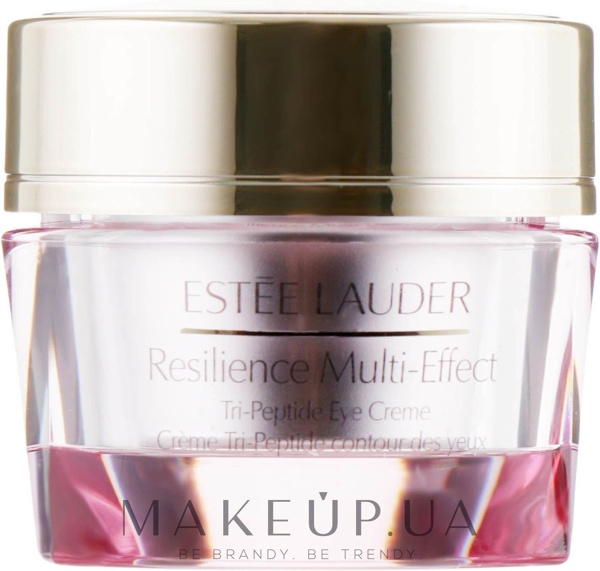 Пептидный крем для век - Estee Lauder Resilience Multi-Effect Tri-Peptide Eye Creme — фото 15ml