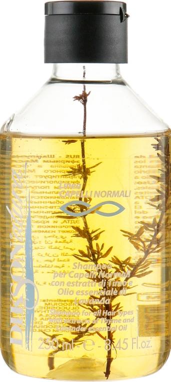 Шампунь для нормальных волос с экстрактом тимьяна - Dikson Natura Shampoo Normali