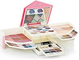 Духи, Парфюмерия, косметика Набор для макияжа, HB-2507 - Ruby Rose Deluxe Beauty Cosmetic Kit