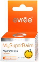 Духи, Парфюмерия, косметика Смягчающий бальзам с ароматом апельсина - Evree My Super Balm Multipurpose Balm