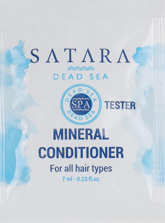 Минеральный кондиционер для всех типов волос - Satara Dead Sea Mineral Conditioner (пробник)