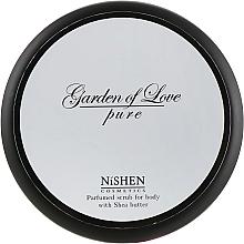 Духи, Парфюмерия, косметика Парфюмированный скраб для тела - Nishen Garden Of Love Pure Parfumed Scrub For Body