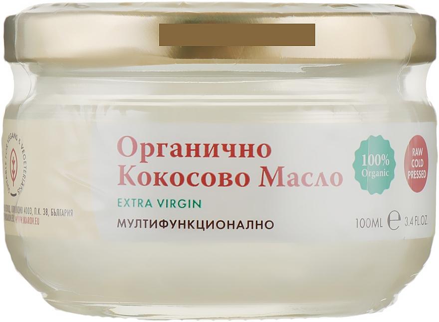 Органическое кокосовое масло - Ikarov Extra Virgin