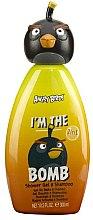 Духи, Парфюмерия, косметика Шампунь-гель для душа - Air-Val International Angry Birds The Bomb Gel-Shampoo