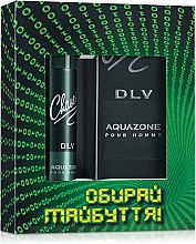 Духи, Парфюмерия, косметика Chaser DLV Aquazone Pour Homme - Набор (edt/100ml+deo/75ml)