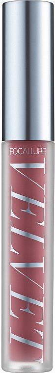 Жидкая вельветовая помада - Focallure Velvet Liquid Lipstick