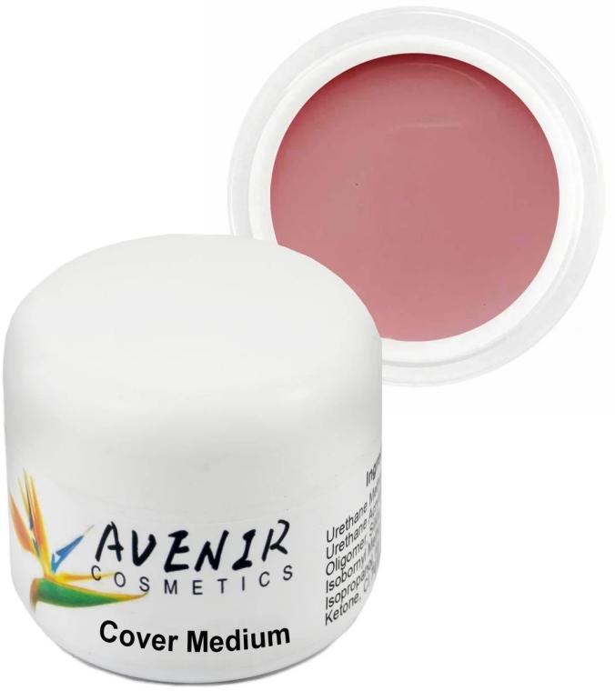 Гель для наращивания высокопигментированный - Avenir Cosmetics Cover Medium Gel