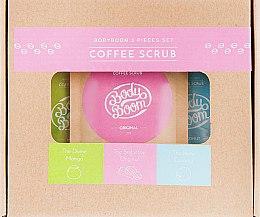 Духи, Парфюмерия, косметика Набор кофейных скрабов для тела - Body Boom Coffee Scrub (scrub/3x30g)