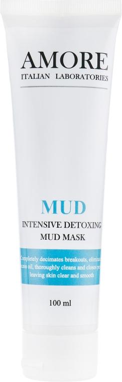 Концентрированная очищающая грязевая маска для жирной и комбинированной кожи - Amore Intensive Detoxing Mud Mask — фото N1
