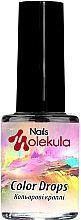 Духи, Парфюмерия, косметика Чернила для акварельной росписи - Nails Molekula Color Drops