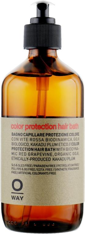Шампунь для окрашенных волос - Oway Color Protection Hair Bath — фото N4