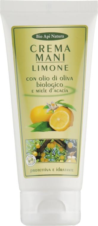 """Крем для рук """"Лимон с оливковым маслом био и мёдом акации"""" - Bio Api Natura"""