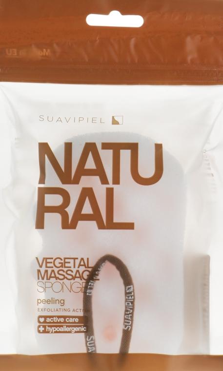 Мочалка массажная, целлюлоза-полиуретан - Suavipiel Natural Vegetal Massage Sponge