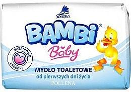 Духи, Парфюмерия, косметика Детское мыло - Pollena Savona Bambi Baby Soap