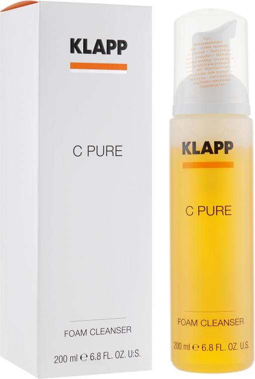 Очищающая пенка с витамином С - Klapp C Pure Foam Cleanser