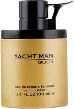 Духи, Парфюмерия, косметика Myrurgia Yacht Man Gold - Туалетная вода (тестер с крышечкой)