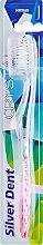 Духи, Парфюмерия, косметика Зубная щетка, мягкая, прозрачно-розовая - Modum Silver Dent Crystal