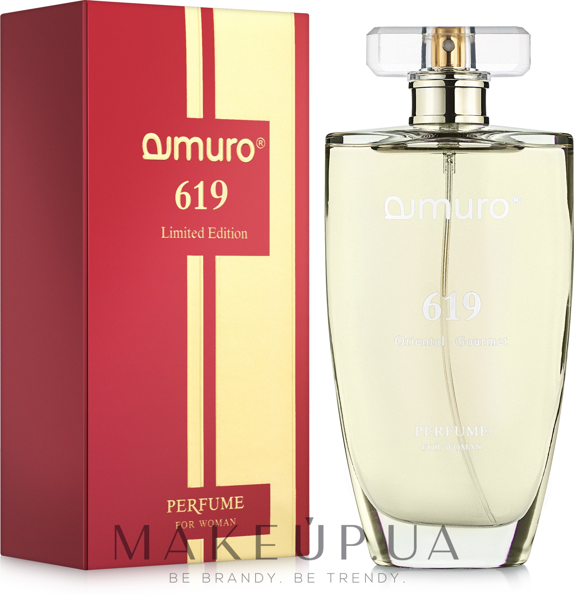 Dzintars Amuro For Woman 619 - Духи — фото 100ml