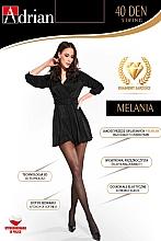 """Духи, Парфюмерия, косметика Колготки для женщин """"Melania String"""", 40 Den, nero - Adrian"""