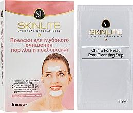 Духи, Парфюмерия, косметика Полоски для глубокого очищения пор лба и подбородка - Skinlite Chin & Forehead Pore Cleansing Strips