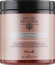 Духи, Парфюмерия, косметика Интенсивная маска для гладкости жестких и плотных волос - Nook Magic Arganoil Disciplining Intensive Mask