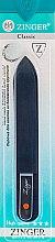 Духи, Парфюмерия, косметика Пилка стеклянная 2-х сторонняя 14см, прозрачная, 1 стразик, оранжевый - Zinger