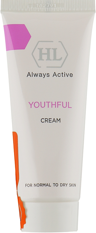 Крем для нормальной и сухой кожи - Holy Land Cosmetics Youthful Cream for normal to dry skin