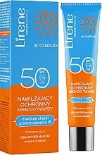 Духи, Парфюмерия, косметика Защитный увлажняющий крем для лица - Lirene Protective Moisturizing Face Cream SPF50