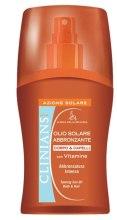 Духи, Парфюмерия, косметика Масло-спрей для активного загара и защиты волос с комплексом витаминов - Clinians Tanning Sun Oil Body & Hair
