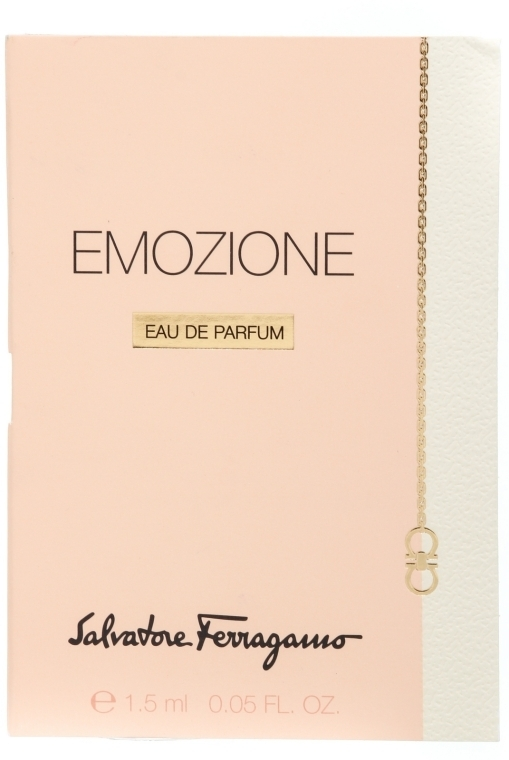 Salvatore Ferragamo Emozione - Парфюмированная вода (пробник)