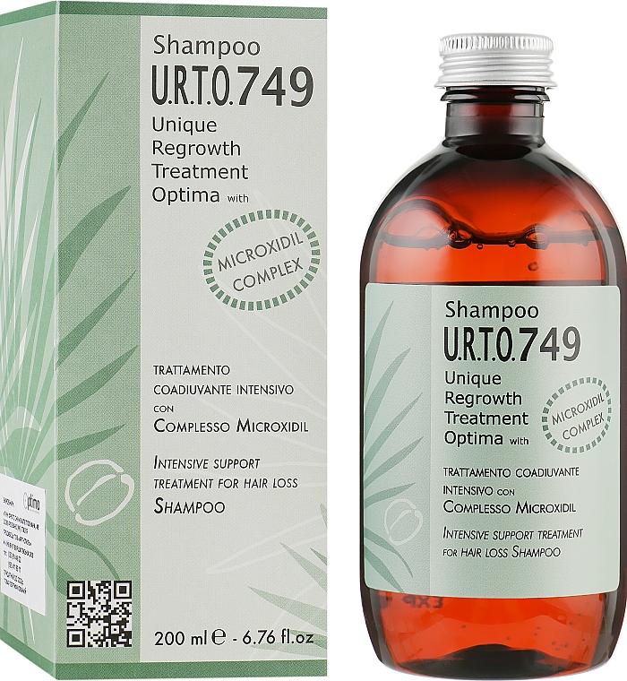 Шампунь для стимуляции роста волос - Optima Complesso Microxidil Unique Regrowth Treament