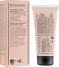 Духи, Парфюмерия, косметика Маска для лица, антистресс - Bioearth Brightening Wheat Germ Oil Face Mask