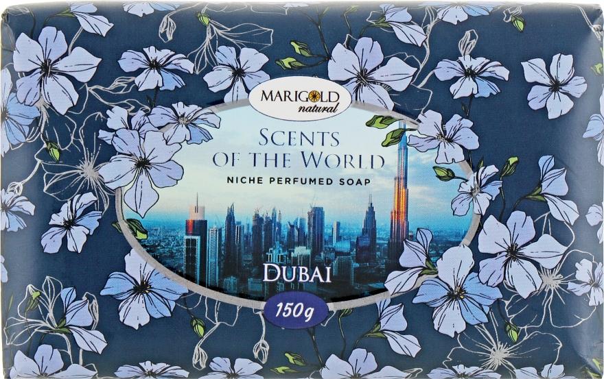 "Твердое туалетное мыло ""Дубай"" - Marigold Natural Soap — фото N1"