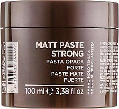 Парфумерія, косметика Матова паста для волосся сильної фіксації - Beard Club Paste