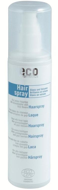 Лак-спрей для укладки волос - Eco Cosmetics Hairspray