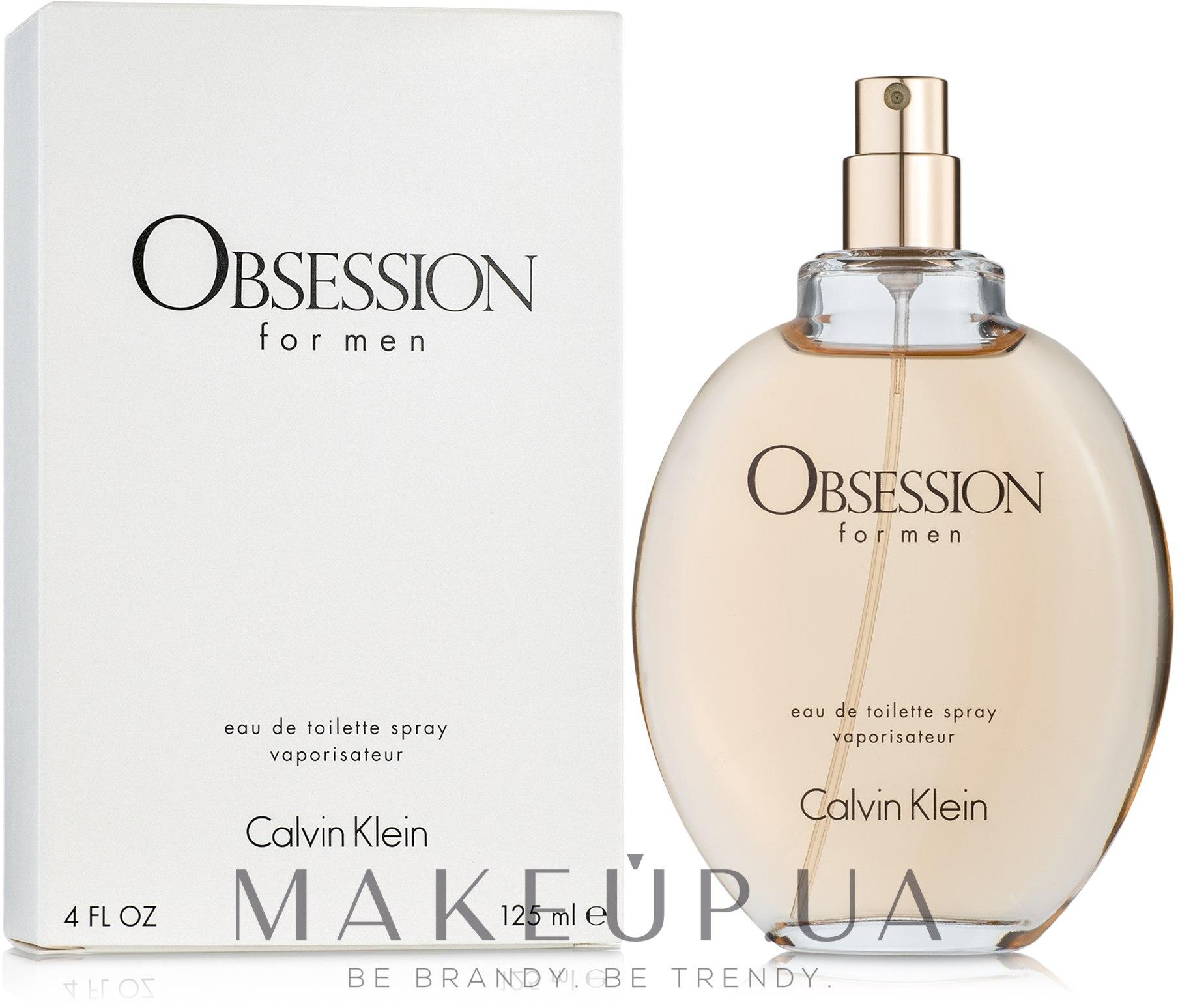 Calvin Klein Obsession For Men - Туалетная вода (тестер без крышечки) — фото 125ml