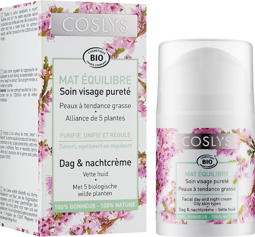 Денний крем для жирної шкіри - Coslys Day Cream Oily Skin Types — фото N2