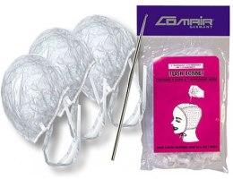 Духи, Парфюмерия, косметика Комплект из 3-х шапочек и крючка для мелирования - Comair Flash Bonnet