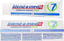 Духи, Парфюмерия, косметика Зубная паста - Blend-a-med Complete Protect fresh 7 Mild Fresh