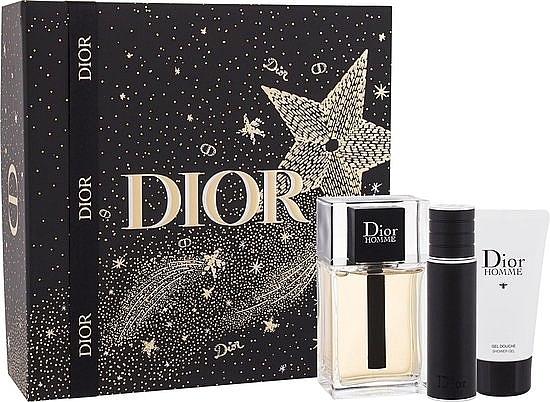 Dior Xmas New Dior Homme Jewel Box - Набор (edt/100ml + edt/10ml +sh/gel/50ml)