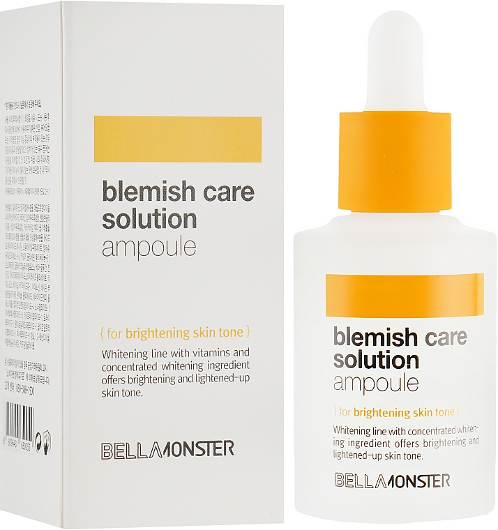Ампула для лица - BellaMonster Blemish Care Solution Ampoule