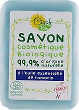 Духи, Парфюмерия, косметика Мыло с глицерином и маслом розмарина - La Cigale Bio Soap