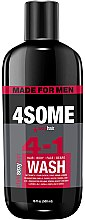 Духи, Парфюмерия, косметика Мужской шампунь для волос, тела, лица и бороды - SexyHair StyleSexyHair 4Some 4-In-1 Wash