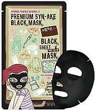 Духи, Парфюмерия, косметика Тканевая лифтинг-маска для лица - Dewytree Premium Synake Black Sheet Mask