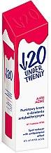 Духи, Парфюмерия, косметика Антибактериальный крем для лица - Under Twenty Anti Acne Cream